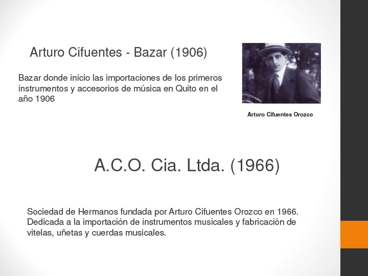 Historia Cifuentes Strings Slide 1