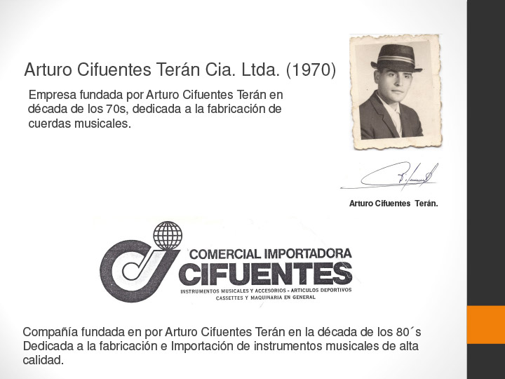 Historia Cifuentes Strings Slide 2